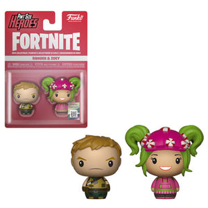 PRE-ORDER - Pint Sized Heroes: 2 pack Fortnite, Ranger/ Zoey