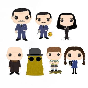 POP! Movies: Addams Family (w/Chase) (Bundle of 7)