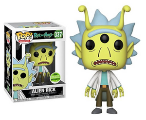 POP! Animation: 337 Rick and Morty, Alien Rick (2018 Spring Convention)