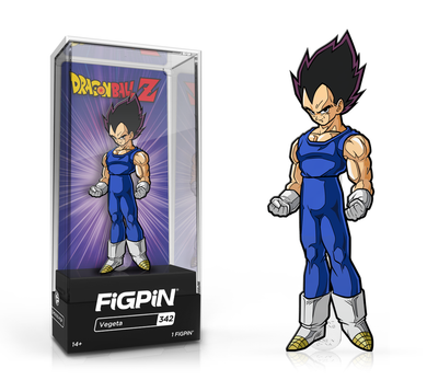 PRE-ORDER - FiGPiN Classic: Dragon Ball Z, Vegeta #342 3