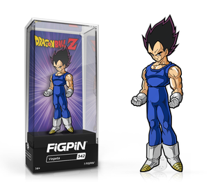 PRE-ORDER - FiGPiN Classic: Dragon Ball Z, Vegeta #342 3""