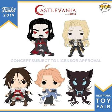 PRE-ORDER - 07/2019 POP! Animation: Castlevania Bundle of 5
