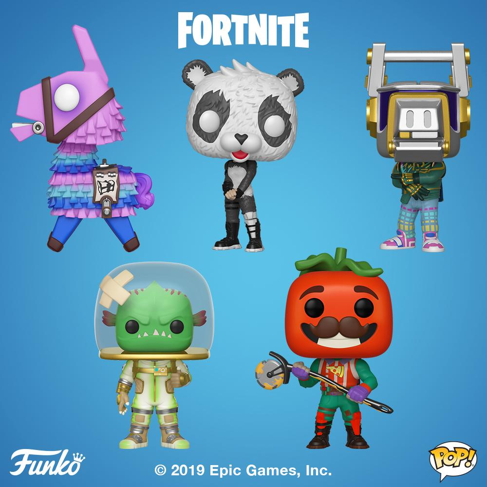 POP! Games: Fortnite Bundle of 5