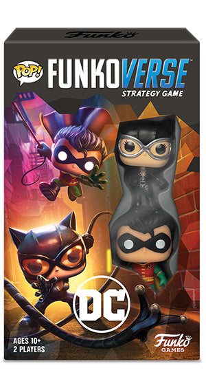 POP! Funkoverse: Dc Comics, 101 Expandalone Game (2-Pack)