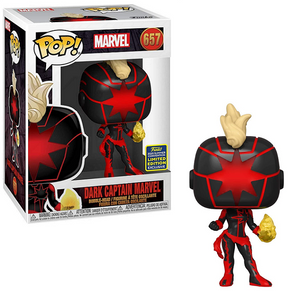 POP! Marvel: 657 Dark Captain Marvel (2020 Summer Convention)