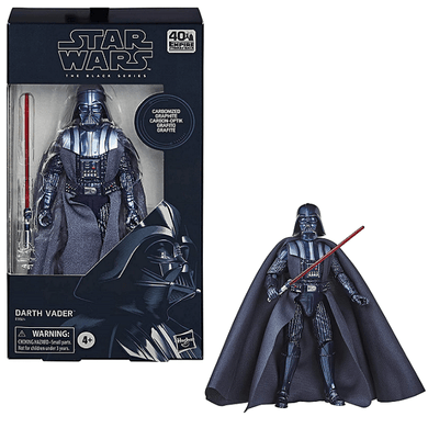 Hasbro: Star Wars (The Black Series), Darth Vader (6-Inch) (Carbonized Graphite) Action Figure