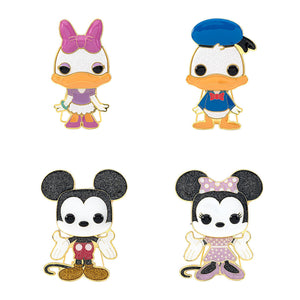 "PRE-ORDER - POP! Pins: Disney (4"" Enamel) (Bundle of 4)"