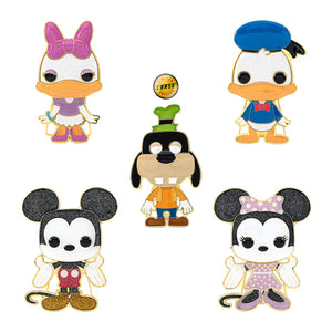 "PRE-ORDER - POP! Pins: Disney (4"" Enamel) (w/Chase) (Bundle of 5)"