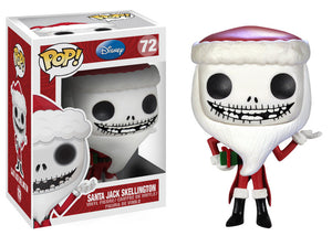 POP! Disney: 72 Nightmare Before Christmas, Santa Jack Skellington
