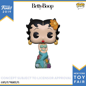 POP! Animation: Betty Boop Mermaid
