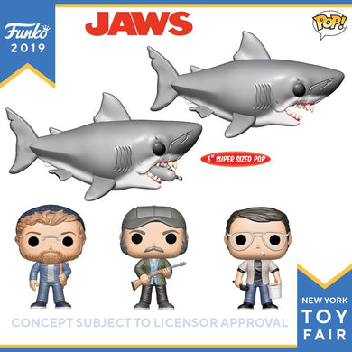 PRE-ORDER - POP! Jaws Bundle of 5 with 6