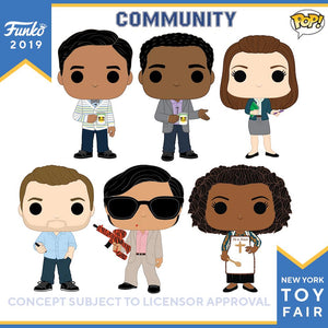PRE-ORDER - 07/2019 POP! TV: Community Bundle of 6