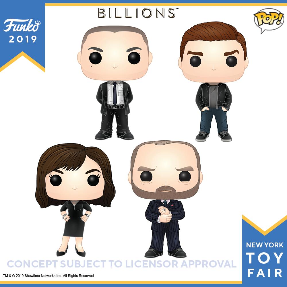 POP! Billions Bundle of 4
