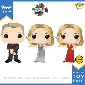 POP! TV: Wheel of Fortune Bundle of 3 with Chase