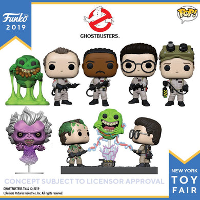 PRE-ORDER - POP! Ghostbusters Bundle of 7 with Movie Moment