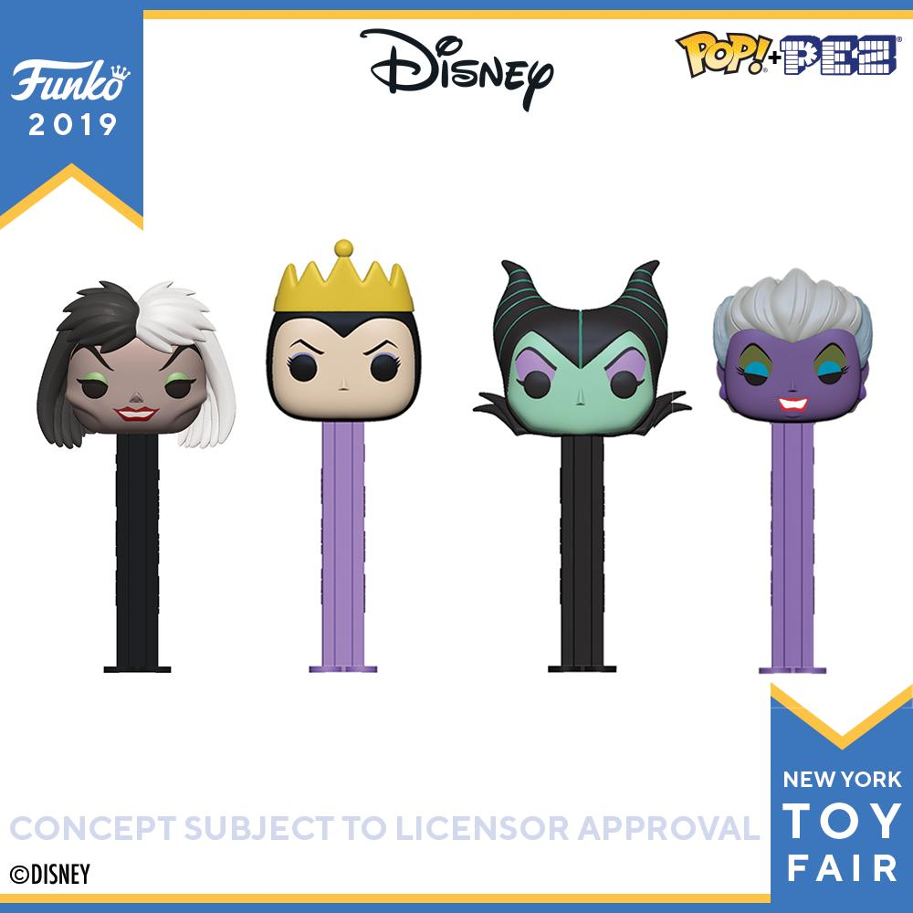 POP! PEZ: Disney Villains (Bundle of 4)