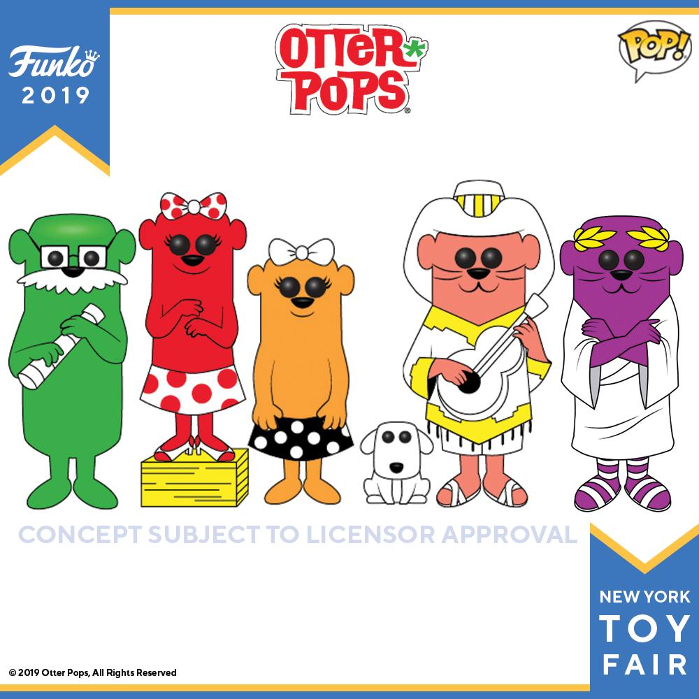 POP! Ad Icons: Otter Bundle of 5