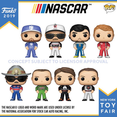 PRE-ORDER - TBD POP! NASCAR Bundle of 8