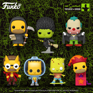 PRE-ORDER - POP! Animation: The Simpsons (Bundle of 7)