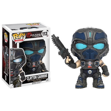 POP! Games: 113 Gears of War, Clayton Carmine