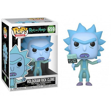 POP! Animation: 659 Rick and Morty, Hologram Rick Clone