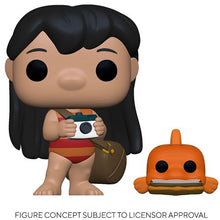 PRE-ORDER - POP! Disney: Lilo & Stitch, Lilo w/Pudge