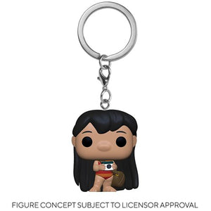 PRE-ORDER - POP! Keychain: Lilo & Stitch, Lilo w/Camera