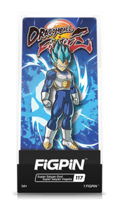 PRE-ORDER - DRAGON BALL Z FIGPIN SUPER SAIYAN GOD SUPER SAIYAN VEGETA COLLECTOR CASE #117