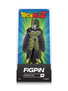 DRAGON BALL Z FIGPIN PERFECT CELL COLLECTOR CASE #28