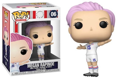 PRE-ORDER - POP! Sports: 06 USWNT, Megan Rapinoe