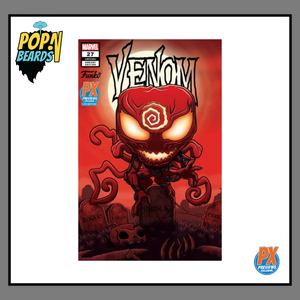 Funko Comic: 27 Marvel, Venom (LGY#192) (Variant Edition) (PX Previews) Exclusive
