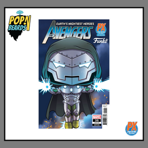 Funko Comic: 35 Marvel, (EMH)The Avengers (LGY#735) (Variant Edition) (PX Previews) Exclusive
