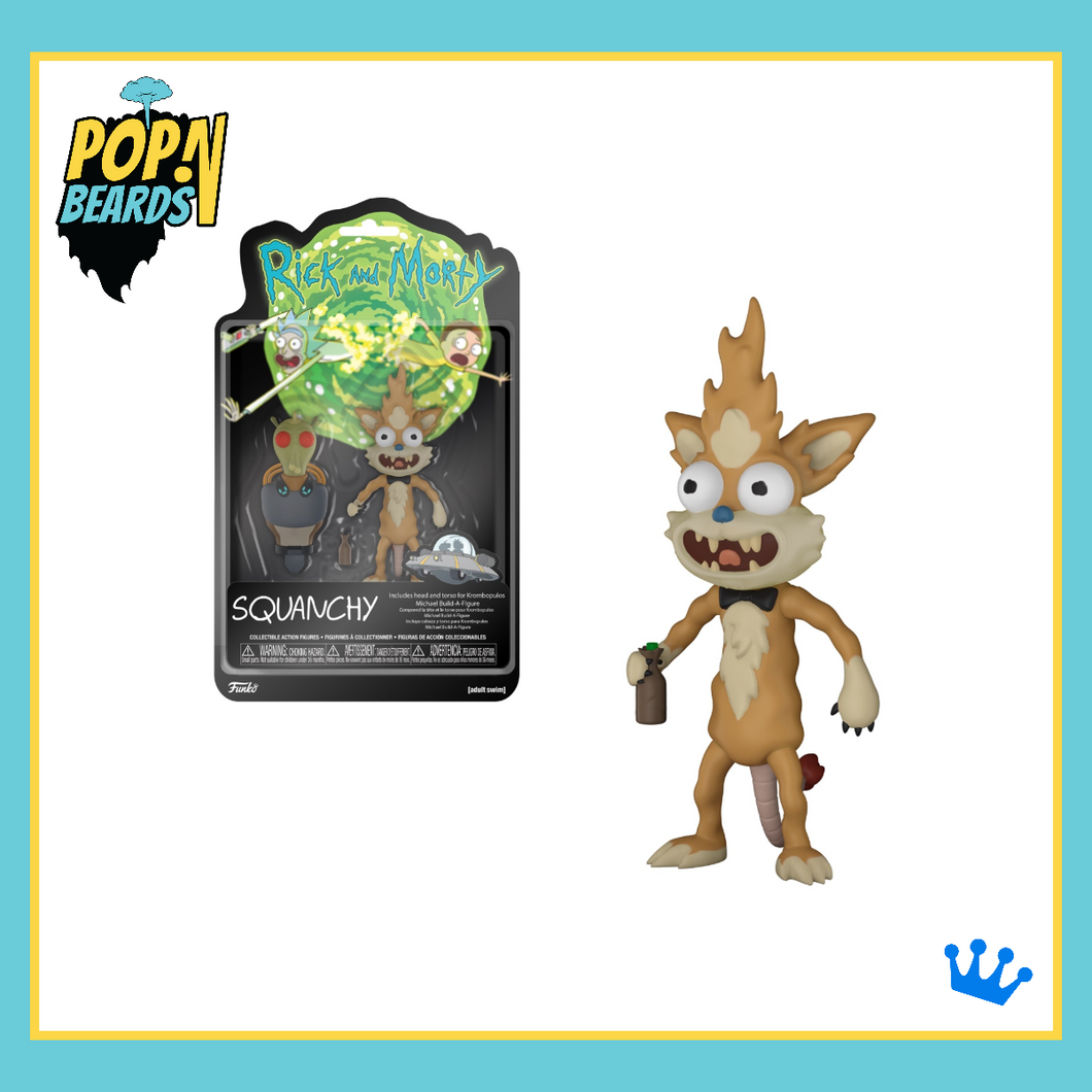 Funko: Rick & Morty, Squanchy Action Figure (5-Inch)