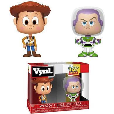 PRE-ORDER - Vynl. Disney: Toy Story, Woody + Buzz Lightyear