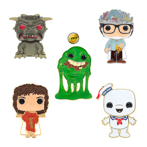 "PRE-ORDER - POP! Pins: Ghostbusters (4"" Enamel) (w/Chase) (Bundle of 5)"