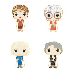 "PRE-ORDER - POP! Pins: Golden Girls (4"" Enamel) (Bundle of 4)"