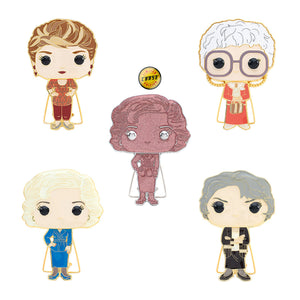 "PRE-ORDER - POP! Pins: Golden Girls (4"" Enamel) (w/Chase) (Bundle of 5)"