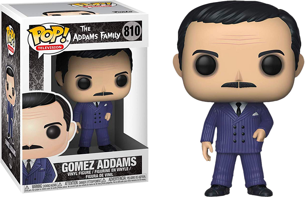 POP! Television: 810 The Addams Family, Gomez Addams