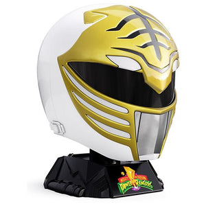 Hasbro: Power Rangers Lightning Collection, Premium White Ranger Helmet (Prop Replica)
