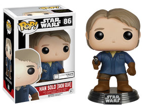 POP! Star Wars: 86 Star Wars, Han Solo (Snow Gear) (Loot Crate)