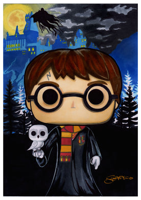 Scoots Art: Harry Potter (11x17 Print)