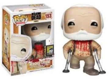 POP! Television: 153 The Walking Dead, Hershel Greene 2014 Convention Exclusive