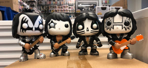 POP! Rocks: Kiss Complete Set (Out Of Box) (Bundle of 4)