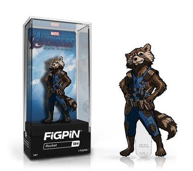 PRE-ORDER - AVENGERS ENDGAME FIGPIN ROCKET COLLECTOR CASE #184