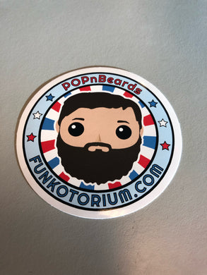 POPnBeards OG Sticker 3