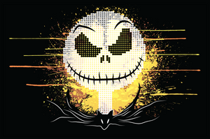 Dot-Art: Jack Skellington (11x17) Print
