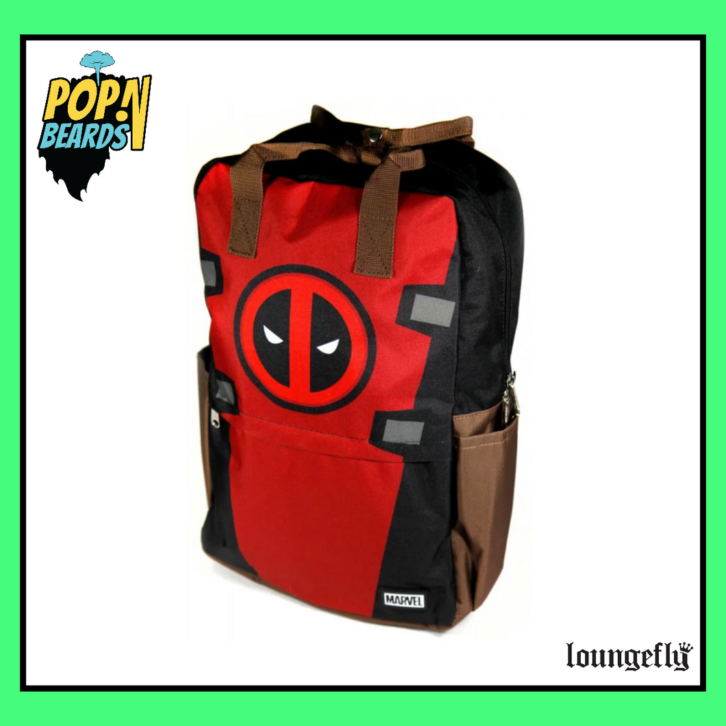 Loungefly: Marvel, Deadpool Cosplay Backpack (Nylon)