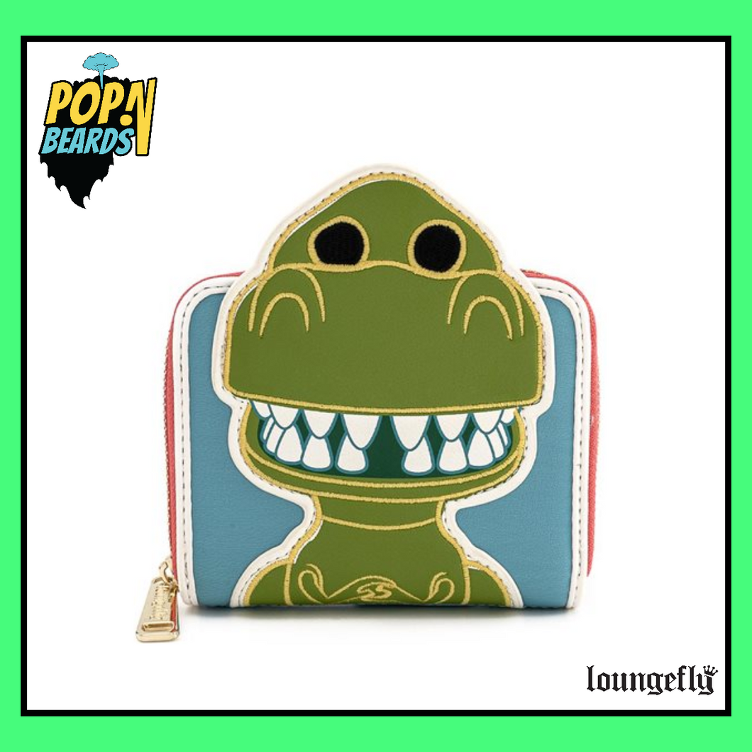 Loungefly: Pixar, Toy Story Rex (25th Anniversary) Wallet (Zip-Around)