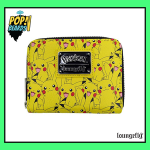 Loungefly: Pokemon, Pikachu Expressions Wallet (Zip-Around)