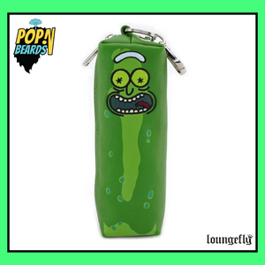 Loungefly: Rick and Morty, Pickle Rick Pouch (Zipper)